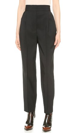 Vika Gazinskaya  - Pleated High Waist Pants