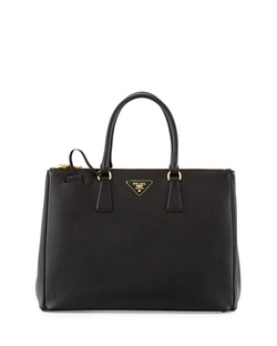 Prada - Saffiano Medium Executive Tote Bag, Black (Nero)