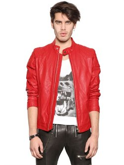 Diesel - Leather Moto Jacket