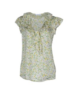 Aglini  - Floral Design Blouse