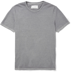 Maison Martin Margiela - Washed Cotton-Jersey Shirt