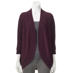 Sonoma Life + Style - Nep Open-Front Cardigan