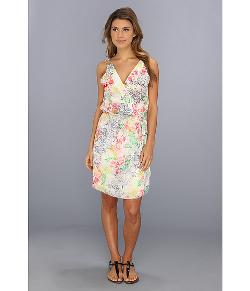 LAmade  - Floral Cross Over Dress