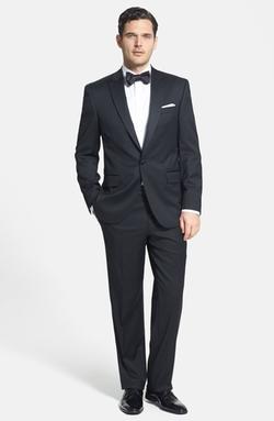 David Donahue - Loro Piana Wool Tuxedo Suit
