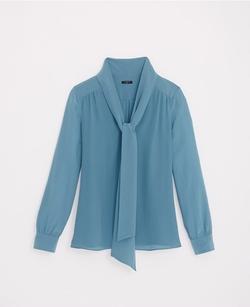 Ann Taylor - Silk Tie Blouse