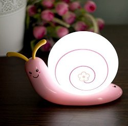 Qich - Snail Light Creative Night Light Usb Charge Night Light