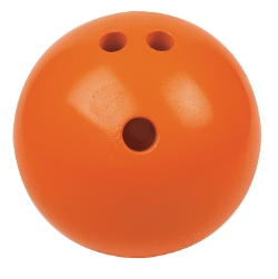 Champion Sports - Plastic Rubberized Bowling Ball