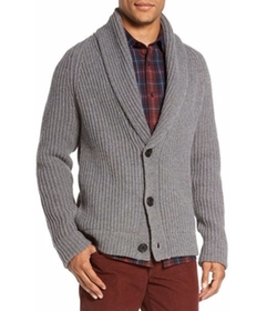 Vince - Trim Fit Shawl Collar Button Cardigan
