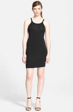 T by Alexander Wang  - Stretch Knit Tank Dress