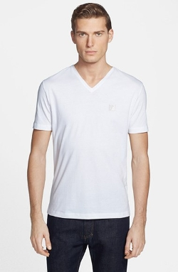 Versace Collection - Medusa V-Neck T-Shirt