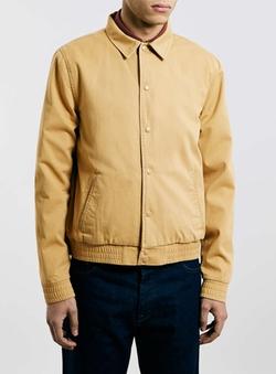 Topman - Ltd Stone Bomber Jacket