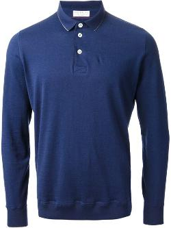 Brunello Cucinelli - long sleeve polo shirt