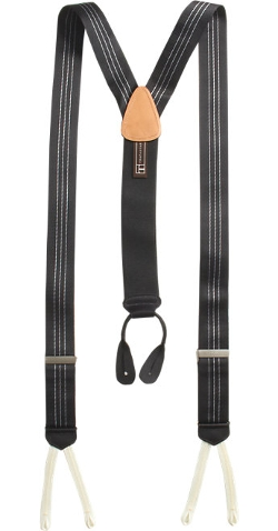 Trafalgar - Formal Ascot Stripe Suspenders