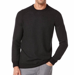 Perry Ellis - Textured Crew-Neck Sweater