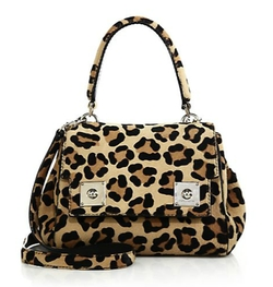 Marc Jacobs - Deja Vu Leopard-Print Satchel Bag