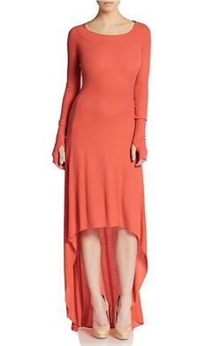 BCBGMAXAZRIA - Aurela Hi-Lo Maxi Dress