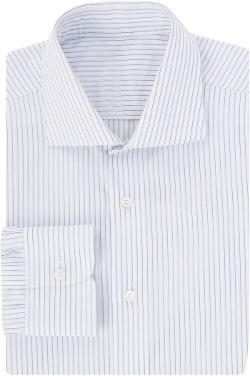 Uman - Shadow-Stripe Dress Shirt