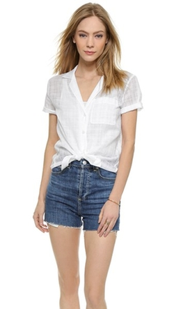 Equipment - Short Sleeve Keira Button Down