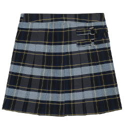 French Toast - Plaid Two-Tab Scooter Skirt