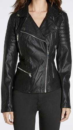 Blank NYC - Leather Moto Jacket