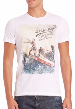 DSquared2  - Dean & Dan Graphic Tee
