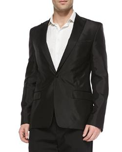 Versace  - Satin Evening Jacket
