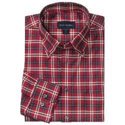 Scott Barber  - James Plaid Twill Sport Shirt