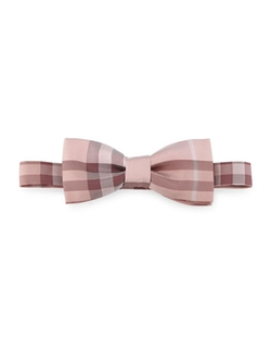 Burberry - Burberry Blake Check Silk Bow Tie