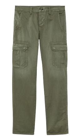 Rag & Bone  - Distressed Army Radar Cargo Pants
