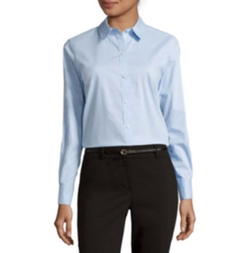 Liz Claiborne - Long-Sleeve Wrinkle-Free Shirt