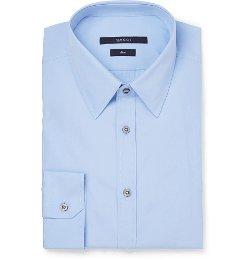Gucci - Cotton-Poplin Dress Shirt