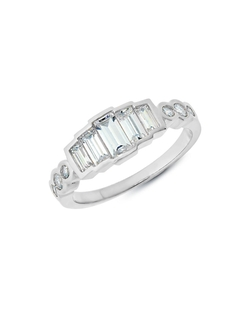 Crislu Eloise - Cubic Zirconia And Platinum Ring