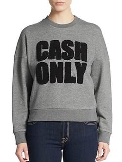 3.1 Phillip Lim - Cash Only Graphic Sweatshirt