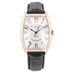 Franck Muller  - Cintree Curvex Classic  Leather Strap Watch
