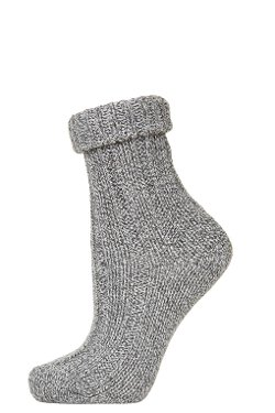 Topshop - Rolled Top Chunky Ankle Socks
