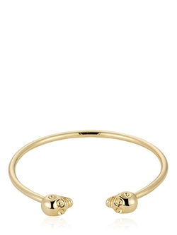 North Skull - Gold Skulls Bangle