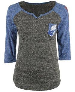 Royce Apparel Inc -  Kansas Raglan T-Shirt