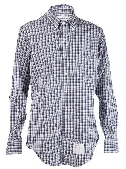 THOM  - BROWNE plaid shirt