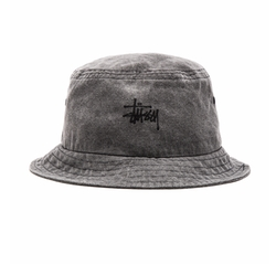 Stussy - Smooth Stock Enzyme Wash Bucket Hat