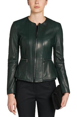 Hugo Boss - Lambskin Pemplum Jacket