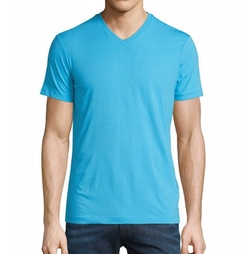 Armani Collezioni  - Short-Sleeve V-Neck Jersey T-Shirt