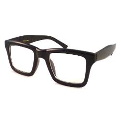 Unknown  - Wayfarer Square Clear Lens Eye Glasses