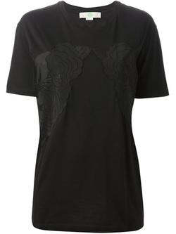 Stella Mccartney - Flower Appliqué T-Shirt