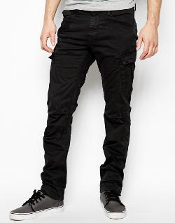 G Star  - Cargo Pants Rovic Slim Fit Micro Twill