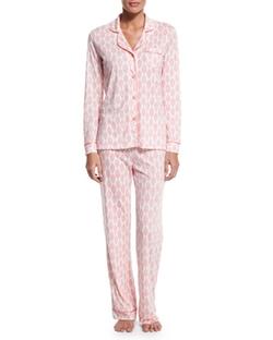 Cosabella - Bella Brocade-Print Pajama Set