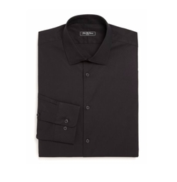 Saks Fifth Avenue Collection - Solid Stretch Poplin Shirt