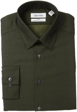 Calvin Klein - Herringbone Solid Shirt