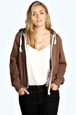 Boohoo - Daniella Zip Through Hoody