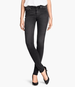 H & M - Skinny Regular Jeans