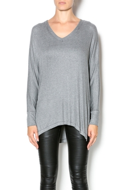 Elan - Long Sleeve Rib Top